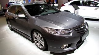 2014 Honda Accord Tourer Type S Diesel - Exterior, Interior Walkaround - 2013 Frankfurt Motor Show