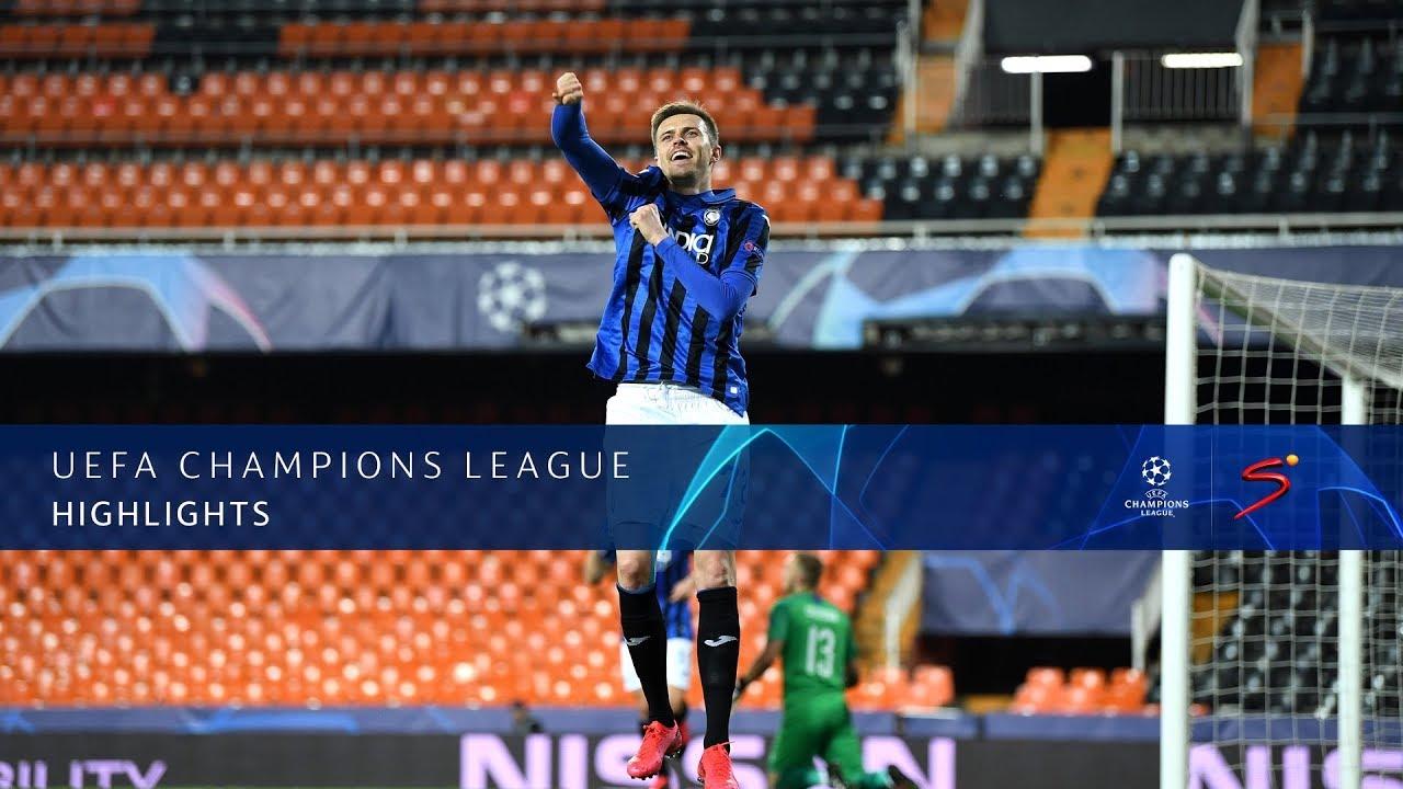 UEFA Champions League | Valencia CF v Atalanta B.C. | Highlights