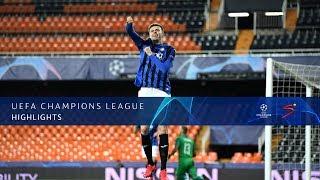 UEFA Champions League | Valencia CF v Atalanta B.C. | Highlights