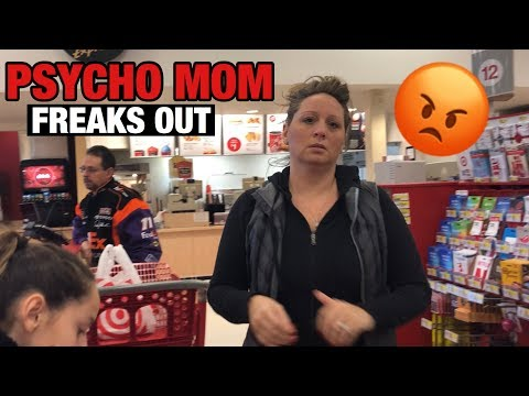 PSYCHO MOM FREAKS OUT IN PUBLIC! *SO FUNNY*