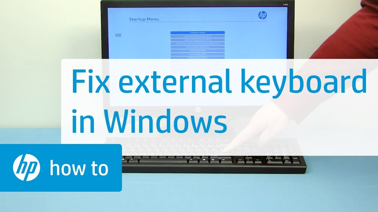 How to Fix an External Keyboard on a Windows Computer | HP Computers | HP