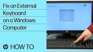 How to Fix an External Keyboard on a Windows Computer   HP Computers   HP