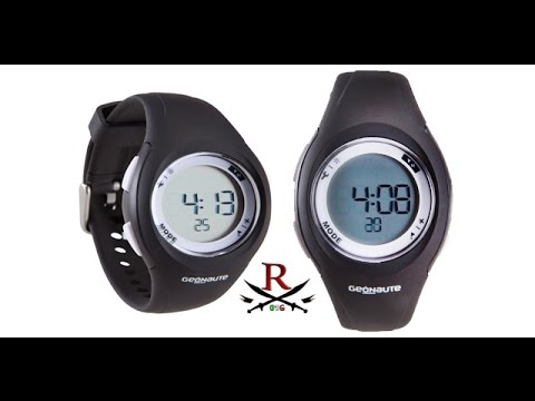 00779d46e3024 OROLOGIO Geonaute digitale W200 S TIMER - Decathlon Italia - YouTube