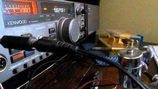Repeat youtube video Qso in cw telegrafia con DJ0SP operatore Hennes