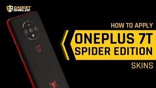 How to apply Skinnova OnePlus 7T Skins Gadgetshieldz®