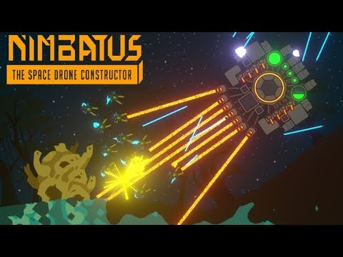 Nimbatus | Drones vs Planets!? | First impression gameplay