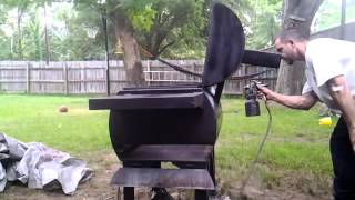 """oval"" Shaped Bbq Pit Build"