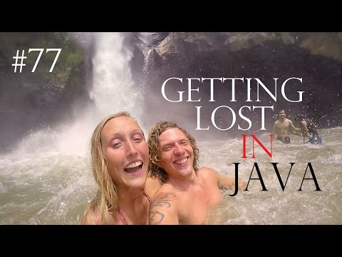 GETTING LOST IN JAVA, INDONESIA TRAVEL VLOG✔Backpacking Indonesia#77 German+English Subtitles