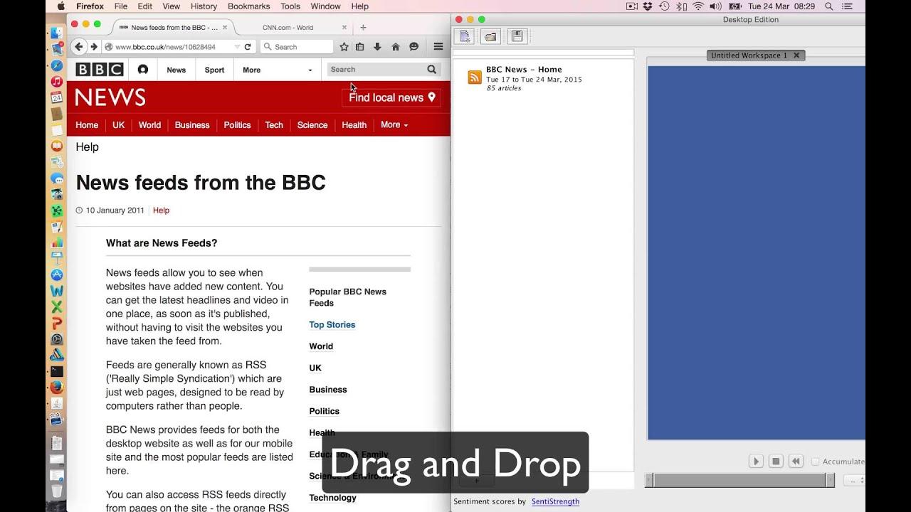 Adding RSS Feeds to COSMOS Desktop