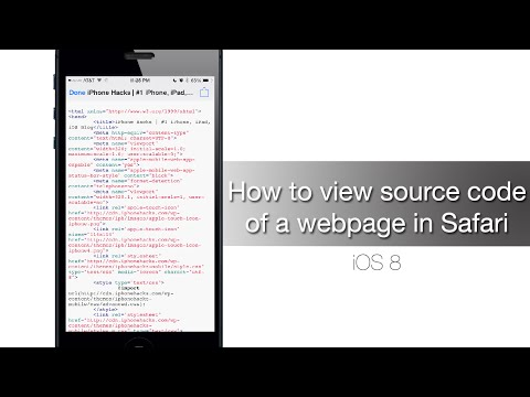 How To View Source Code Of A Webpage In Safari - IPhone Hacks