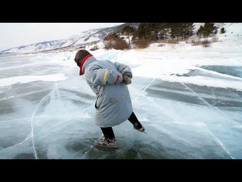 Баба Люба — байкальская конькобежка | ЧЕЛОВЕК НА КАРТЕ