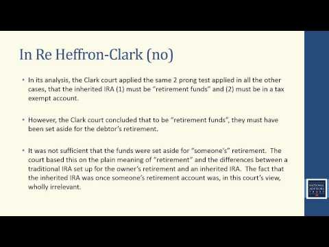 Trust Education: Is an Inherited IRA Protected from Creditors? (November 2013)