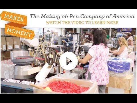 Maker Moment: Pen Company of America