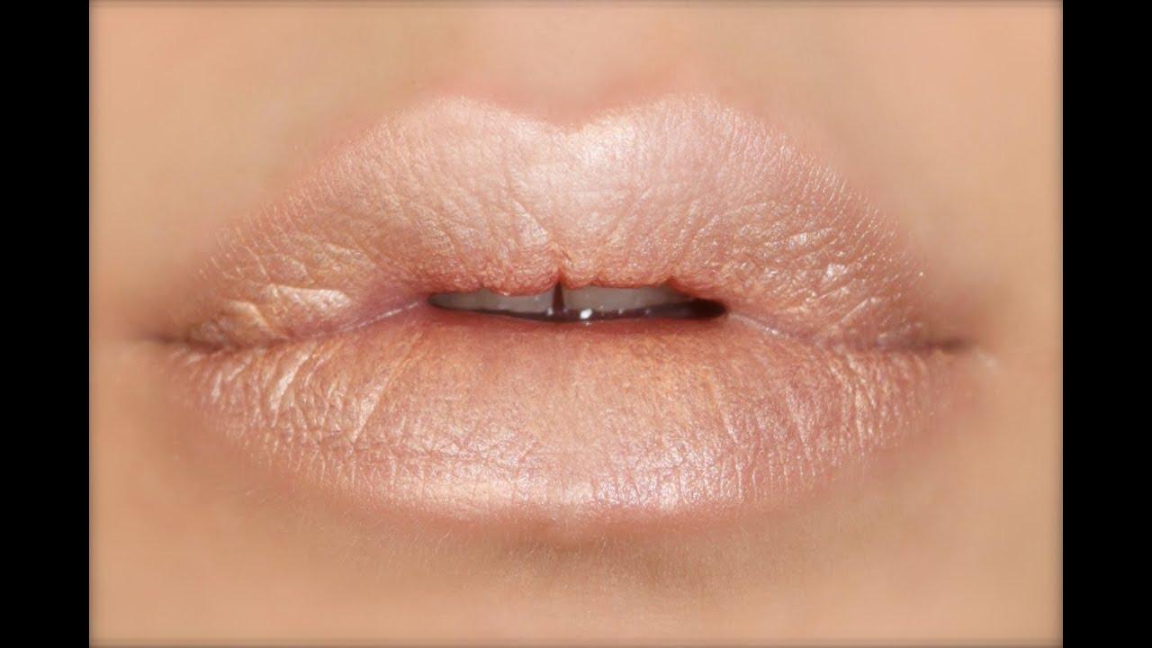Souvent Conseil ✍ Lèvres Nudes pour toutes les carnations - YouTube FK49