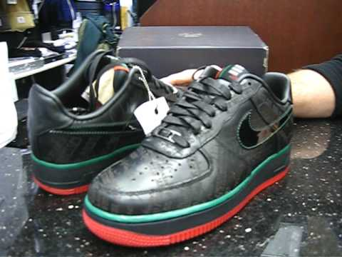 Nike Air Force 1 Black History Month at Street Gear, Hempstead NY - YouTube