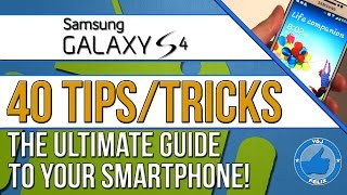 40 Samsung Galaxy S4 Tips and Tricks