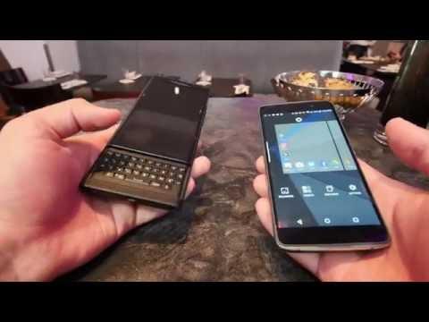 Blackberry DTEK50 bemutató videó