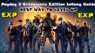 Payday 2 Crimewave Edition Infamy Guide