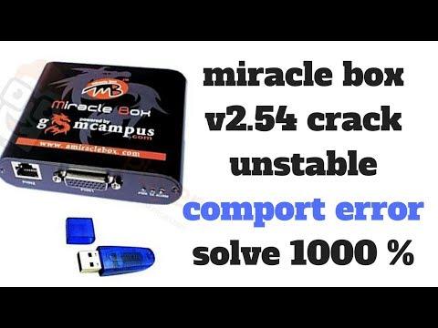 miracle box v2 54 crack unstable comport error solve 1000