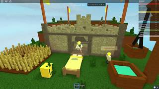 MINECRAFT BED BATTLES AT ROBLOX!!