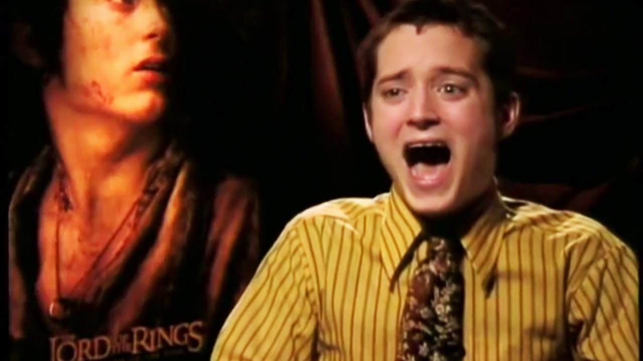 Sinnloses Herr Der Ringe Interview (Synchro) - Elijah Wood Prank Interview (Deutsch/German)