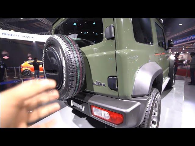 Suzuki Jimny | Auto Expo India | Walkaround