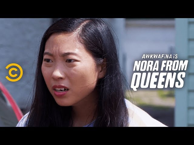 When Two People in Your Friend Group Break Up - Awkwafina is Nora from Queens