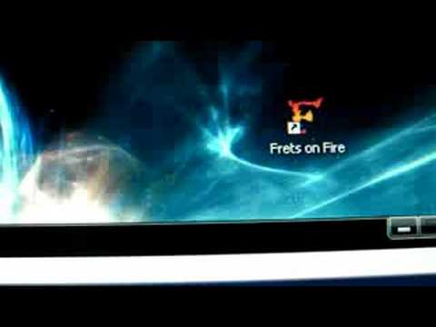 Wiimote + Guitar on Frets on fire 1/2