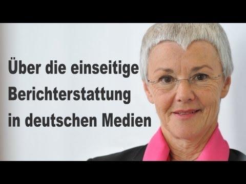 Gabriele Krone Schmalz Einseitige Berichterstattung In Den Medien