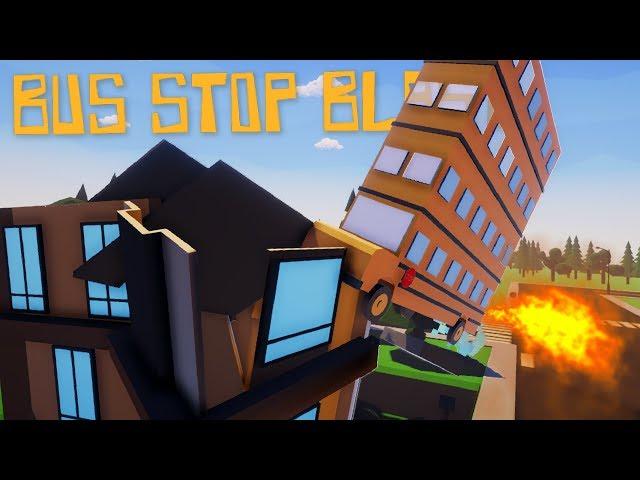 I KILLED THE CHILDREN | Bus Stop Blast - Indie Games #1