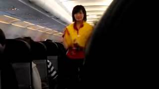 Video AirAsia awesome safety measures announcement with new attire - JEANS download MP3, 3GP, MP4, WEBM, AVI, FLV Juni 2018