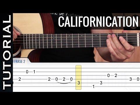 Cómo Tocar Californication En Guitarra Acordes Y Letra Guitarraviva