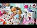 Barbie & Ken Family Morning Routine - Baby Doll Toy Pool Fun!
