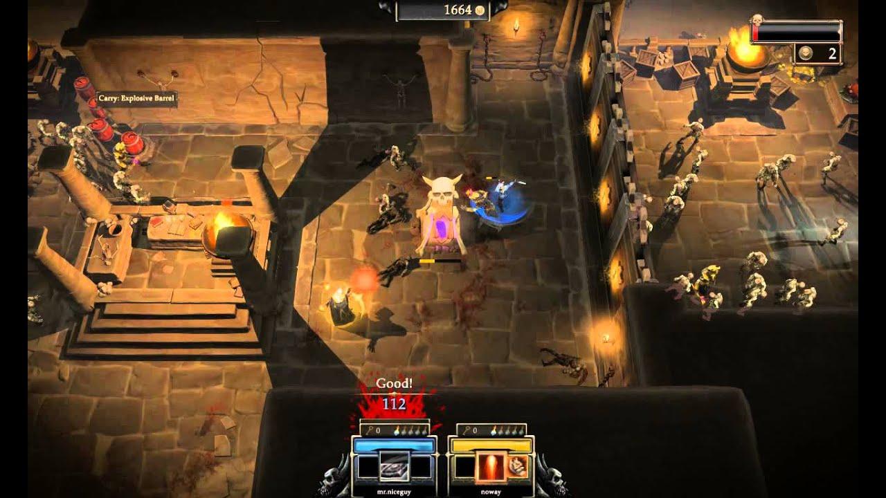 Gauntlet 2014 Co Op Gameplay Part 1 Pc Hd Youtube