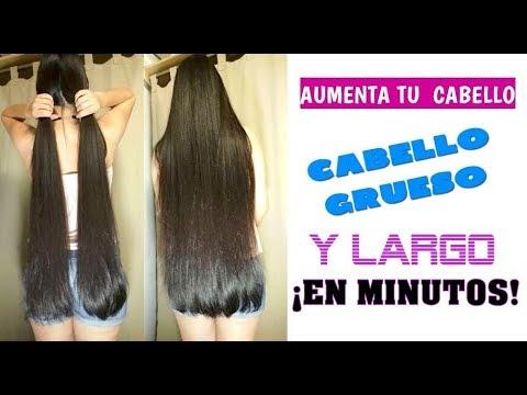 😍💆♀¡Cómo AUMENTAR TU CABELLO con esta receta, cabello grueso y largo en minutos!