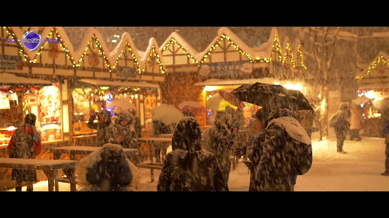 german christmas market sapporo 2014 youtube