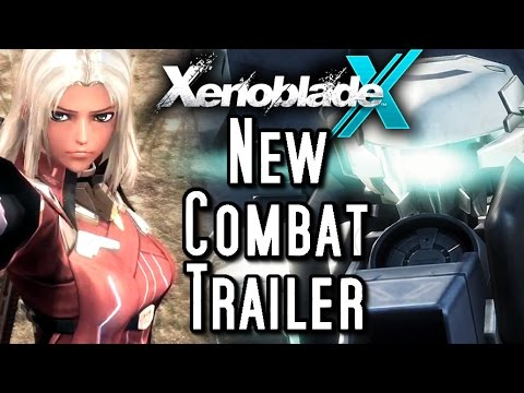 Xenoblade Chronicles X - COMBAT & CLASSES TRAILER (Wii U)