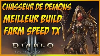 DIABLO 3 FR: MEILLEUR BUILD FARM SPEED DU TX, CHASSEUR DE DEMONS ! Patch 2.4 et Saison 5 / GUIDE