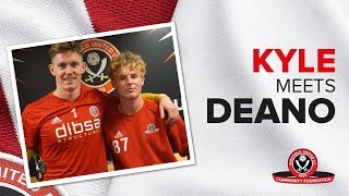 KYLE MEETS DEANO | SUFC Community student Kyle congratulated on England disablity trial