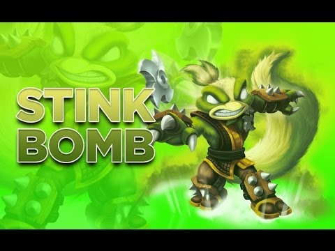 Skylanders: Swap Force - Stink Bomb Gameplay Vignette