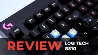 review logitech g810 mechanical keyboard rgb