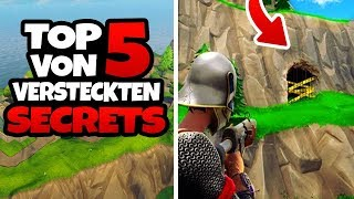TOP 5 of HIDDEN SECRETS - Fortnite Battle Royale Tips and Tricks [ENGLISH/ ENGLISH]