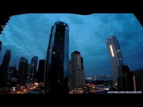 Путевые Заметки, ОАЭ, апрель 2020: Dubai Marina Timelapse – пару дней дождика – отличная погода
