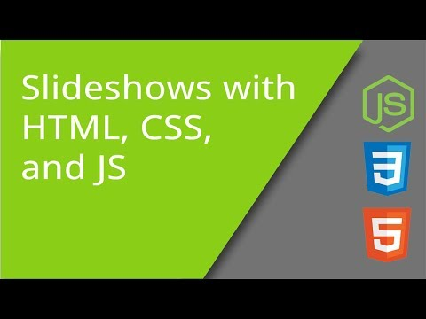Making A Slideshow With HTML, CSS, And JS