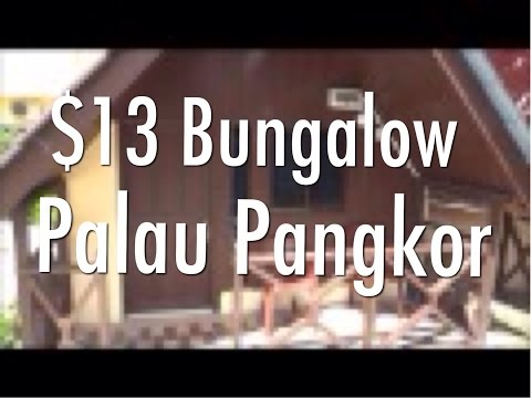 My $13 A Night Budget Bungalow On Palau Pangkor, Malaysia - Intan Beach Resort, Teluk Nipah.