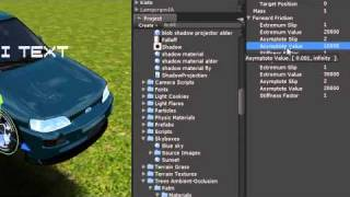#37 Unity 3D-Tutorial - Wheel Friction Curve