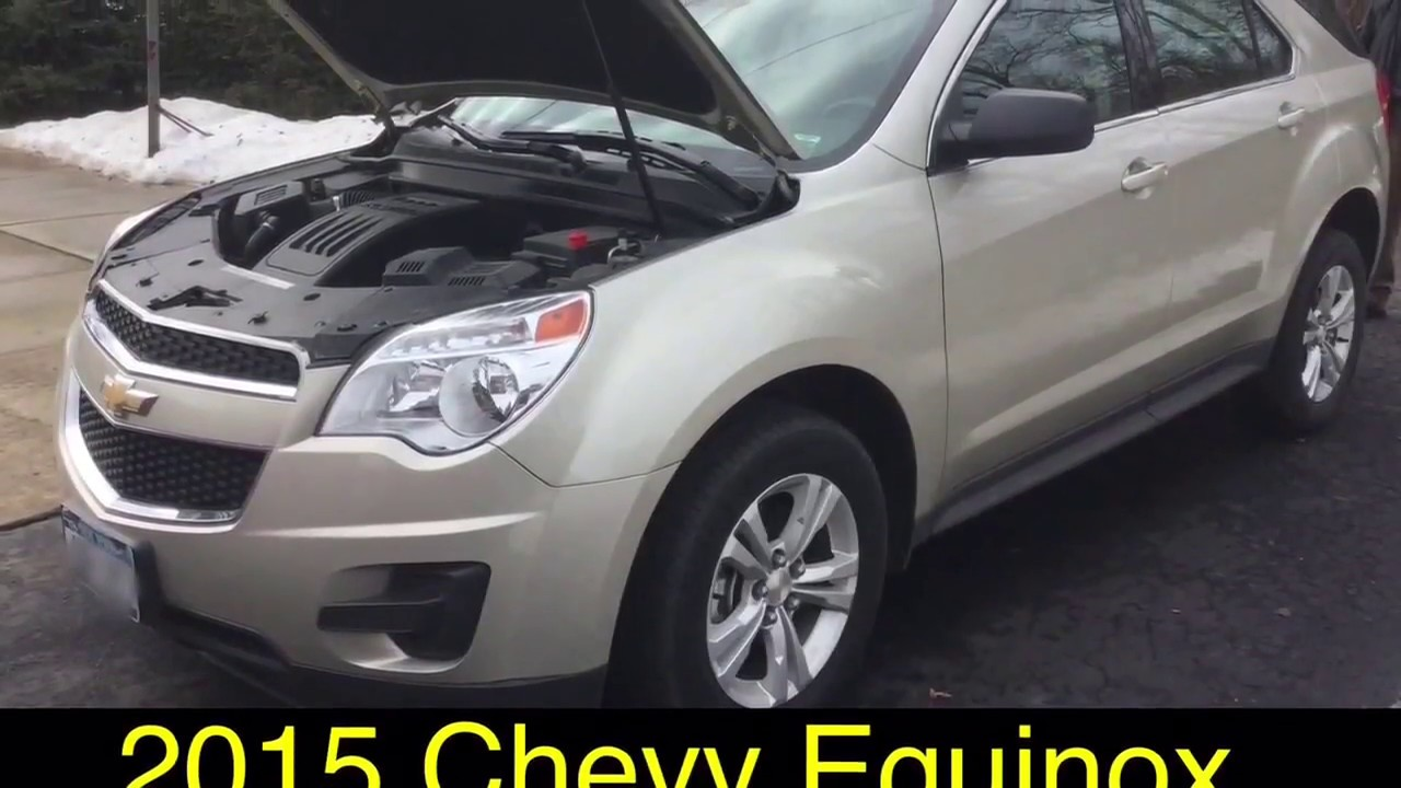 2015 Chevy Equinox Oil Filter Youtube