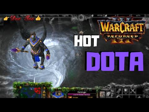 Warcraft 3 Reforged:  DOTA - Harbinger (the Obsidian Destroyer) HOT!!!