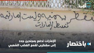 الإمارات تدفع بمجندين جدد إلى سقطرى لقمع الغضب الشعبي | باختصار