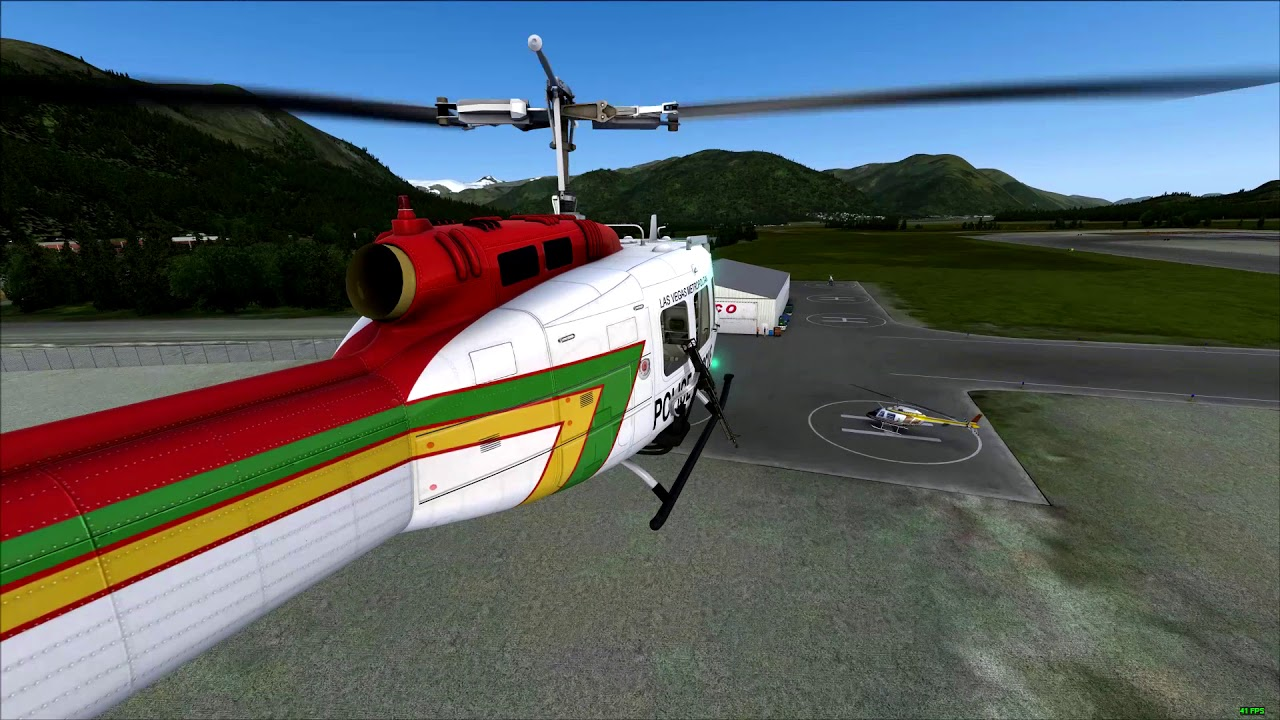 FSX Steam Edition: Milviz – MV UH1 Huey Redux | FlightSim Planet